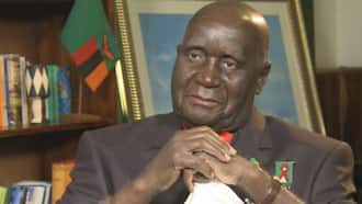 Zambia's Kenneth Kaunda Rushed to Hospital Day after President Edgar Lungu Collapsed