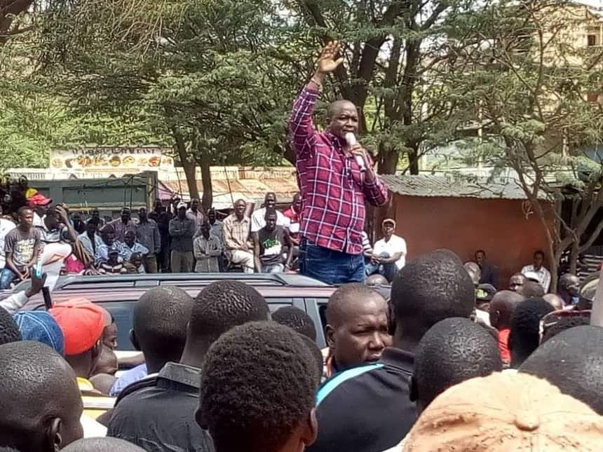 Eugene Wamalwa's meeting ends prematurely as Baringo MPs battle over microphone