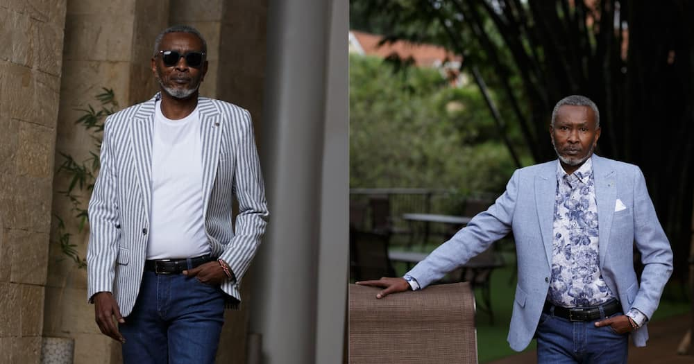 Grandpa Ian Mbugua Steps Out Looking Too Dapper For his Age