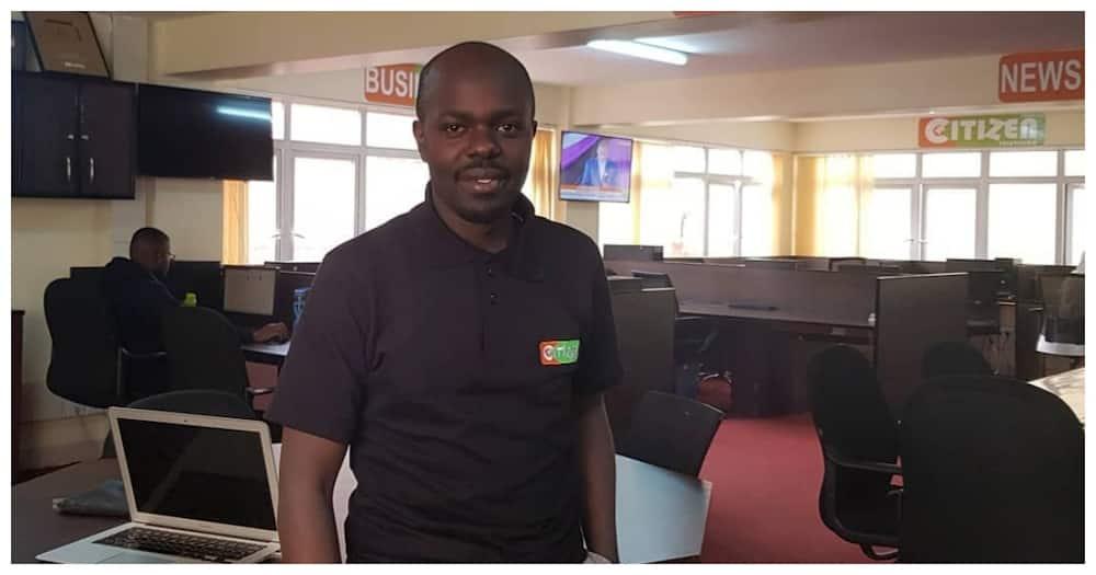 Award winning education reporter Makori Ongechi leaves Citizen TV