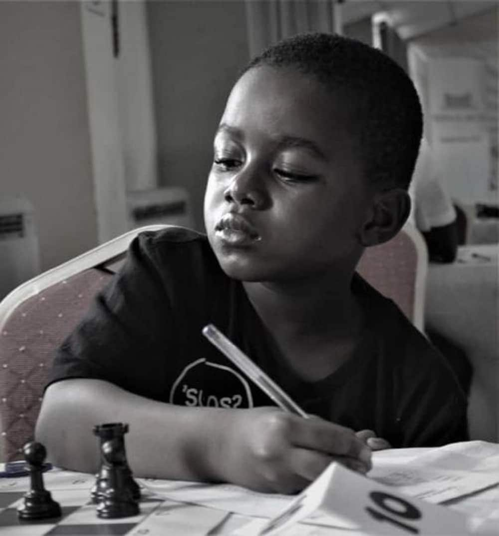 Brainy eight-year-old Ghanaian wins African Chess Championship 2020