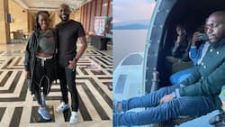 Fans Urge Larry Madowo to Marry Poizon Ivy after He Posted Photo with The DJ in Rwanda