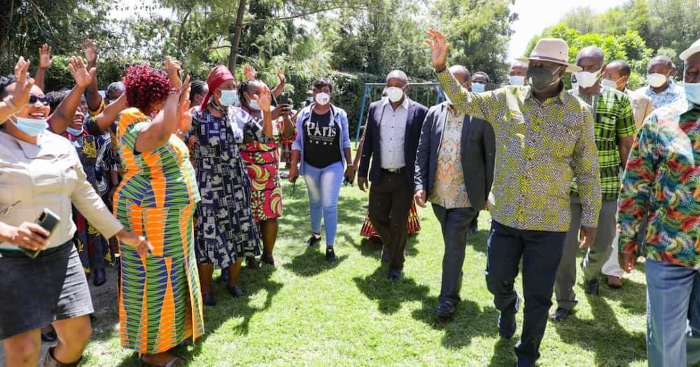 BBI: Raila Odinga apeleka reggae Mlima Kenya