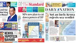 Newspapers Review for October 13: Uhuru's Allies in Fresh Bid to Clip Ruto's Wings in New Bill