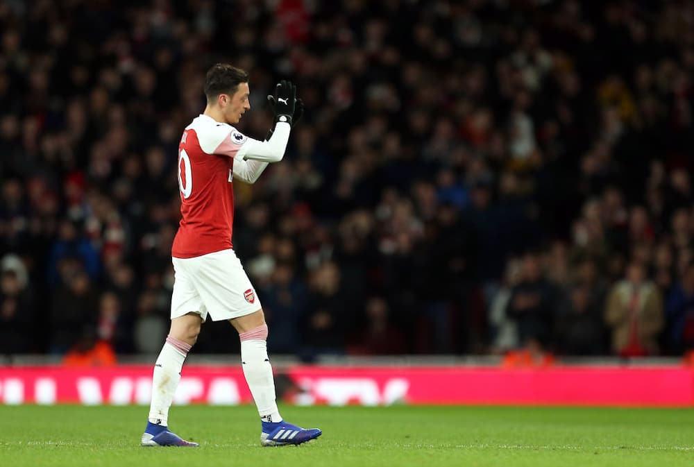 Mesut Ozil breaks silence after being left out of squad in Manchester City defeat