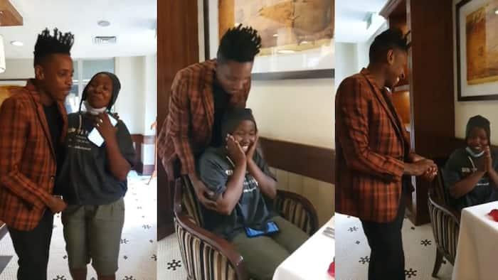 Eric Omondi Takes Kinoo Lady Who Applied to be on His Show on Date at Villa Rosa Kempinski