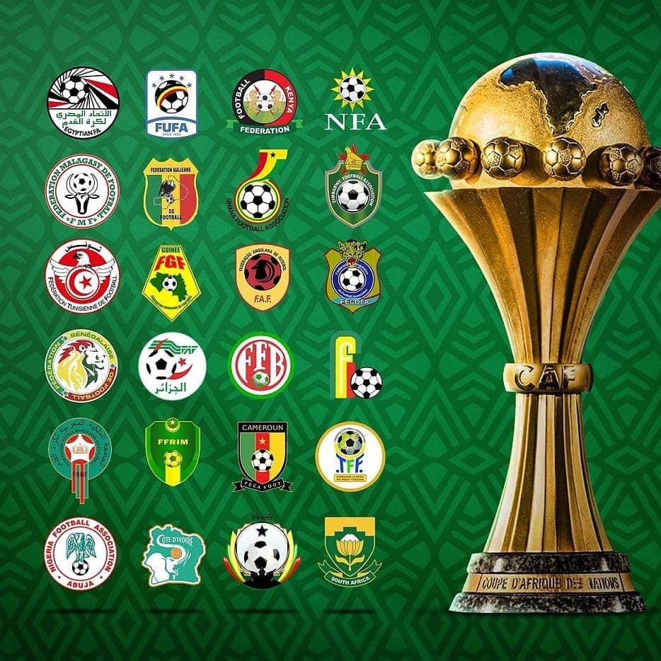 AFCON 2021 qualifiers draw, groups and fixtures