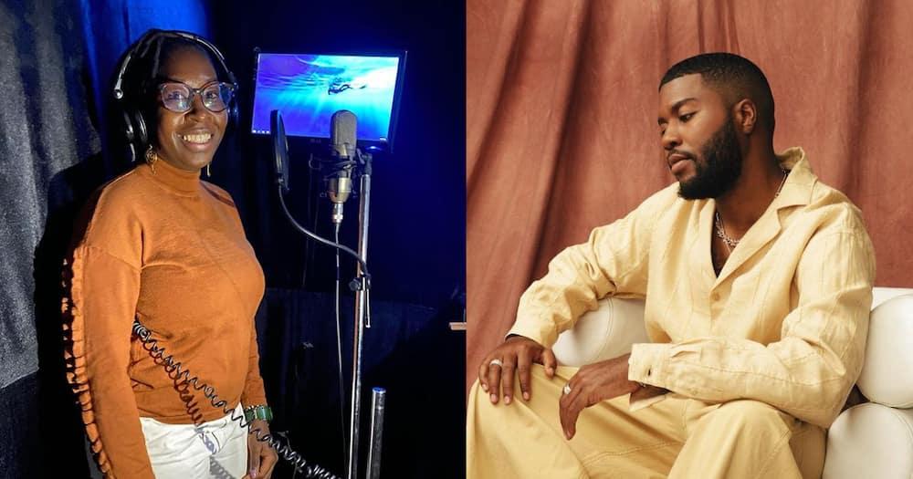 Cynthia Kimola and Khalid.