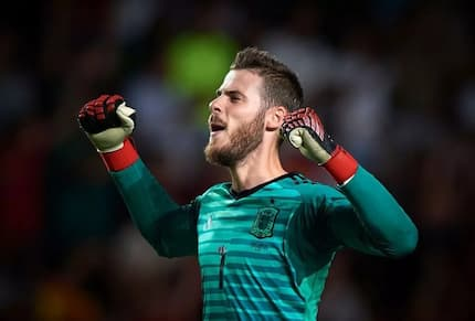 De Gea's six words after victory over Spurs at Wembley sends Man United fans into meltdown
