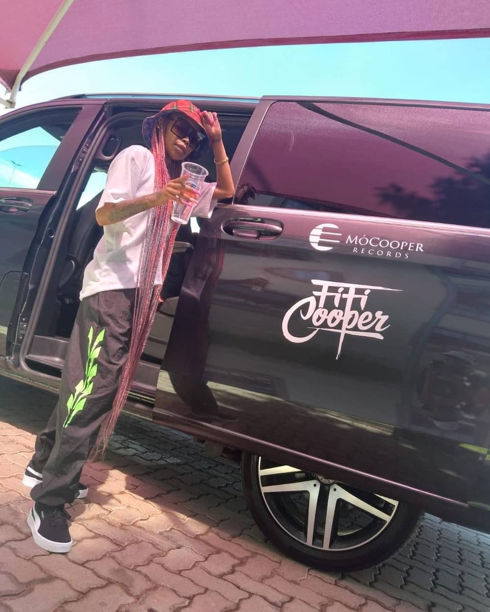Rapper Fifi Cooper excites fans after announcing new song Motlogeleng will drop soon