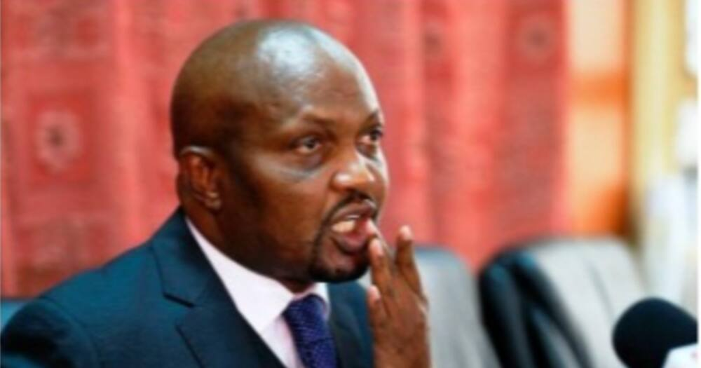Moses Kuria Says He Will Refund KSh 100k Bribe He Received from National Assembly