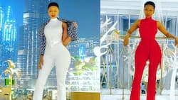 Just gained weight: Huddah Monroe denies going under the knife to alter her shape