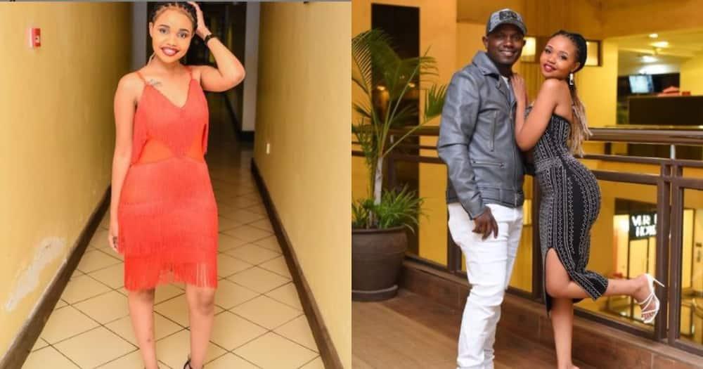 Gukena FM presenter Mc Kajim and his wife Silvana Wambui.