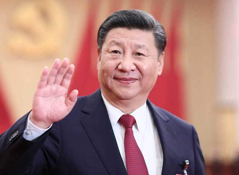 Xi Jinping on the other hand said his country has no intention to enter a cold war with any other country. Photo: The Sun