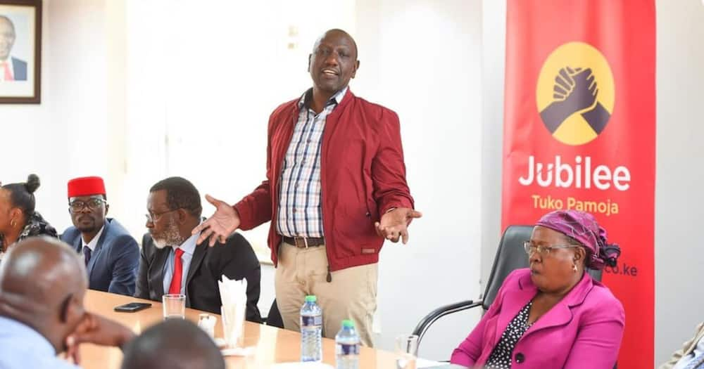"""William Ruto wonders why working from Jubilee House is strange: """"I'm duly elected party leader"""""""