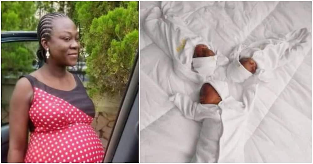 Woman finally welcomes triplets after 20 years of childlessness (photos)