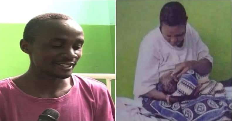 Narok man who collapsed after wife delivered triplets showered with gifts