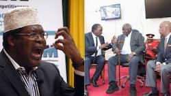 Mjukuu wa Kibaki amuaibisha wakili Miguna Miguna baada ya kumshambulia babu yake