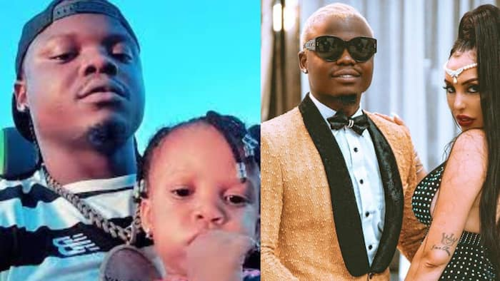 Harmonize Apologises to Italian Ex through Heartfelt Song, Asks Her Not to Blame His Daughter