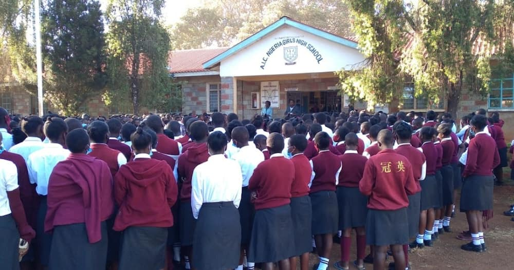 AIC Ngeria Girls is located in Uasin Gishu county.