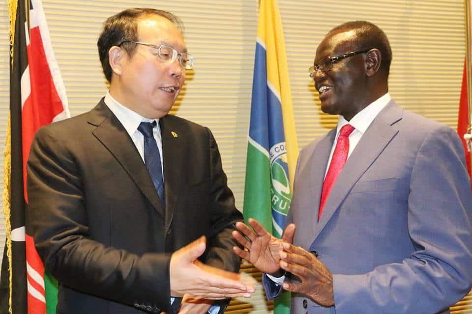 Meru Governor Kiraitu Murungi offers Chinese investors free land
