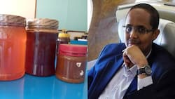 Kenyan Financial Expert Mohamed Wehliye Frustrated at Difficulty of Finding Pure Honey