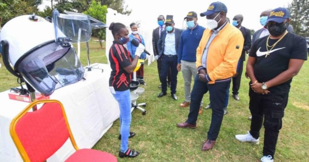 We want William Ruto's wheelbarrows, you can keep your money, Nyanza youth tell Raila Odinga