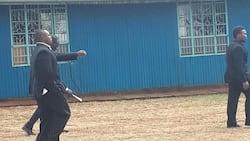 Wachungaji wa SDA waandamana na walinzi hadi kanisa la Kangemi kutatiza ibada ya maombi