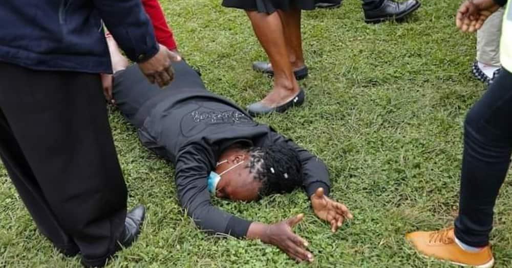 Catherine Wawira, mother of the slain Kianjokoma brothers. Photo: Amnesty Kenya.