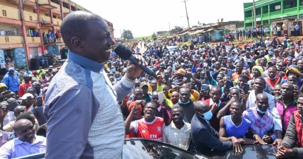 DP Ruto Apokelewa kwa Shangwe Ngome ya Kinara wa ODM Raila Odinga