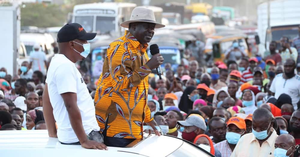 Raila says Msambweni by-election loss doesn't mean ODM is losing ground in Coast