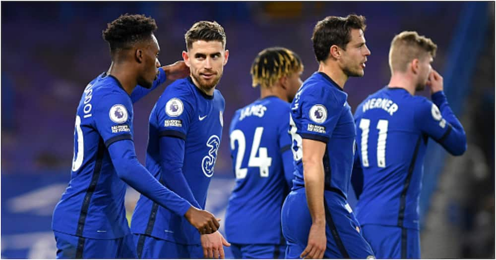 Jorginho on target as Chelsea edge Everton to extend unbeaten run to 11 matches