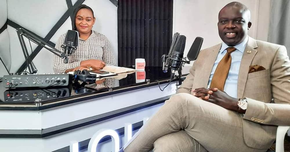 Media personality Syombua Osiany expresses thanks after hubby David's surprise visit at her Inuka online show.