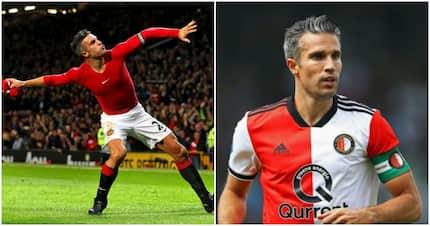 Ex-Man United and Arsenal star Robin Van Persie demonstrates he still has it with insane free-kick goal