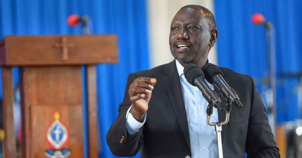 William Ruto had been accused of engaging in corruption by Raila Odinga.