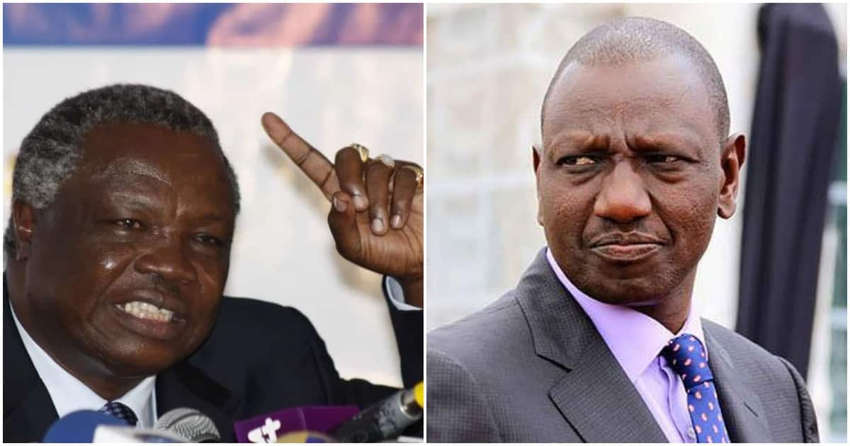 COTU boss Francis Atwoli asks President Uhuru to allow him help tame DP William Ruto