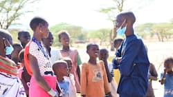 Samburu Man Speaks for The First Time after 20 Years of Silence