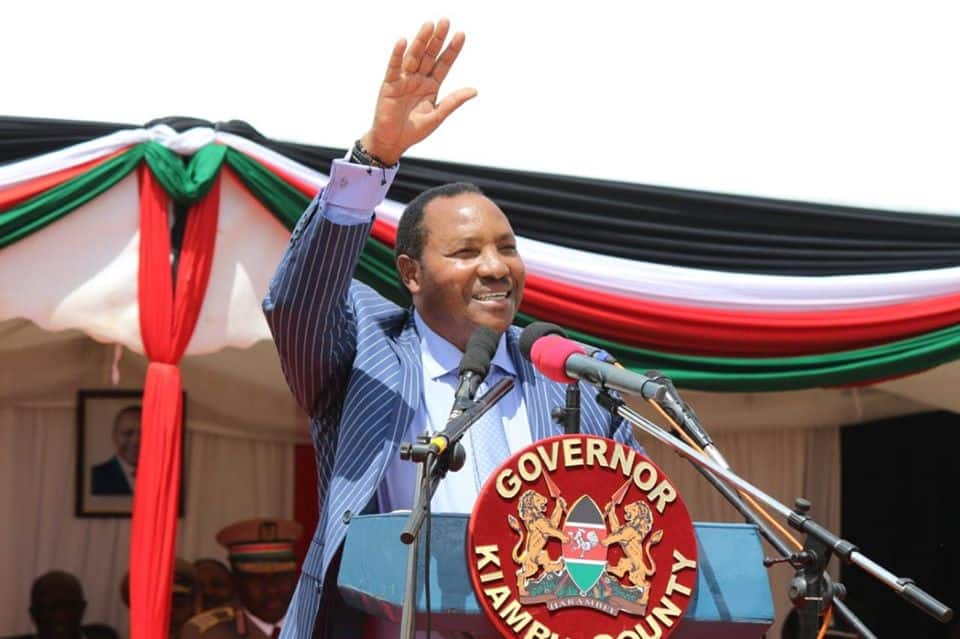 Embattled Kiambu Governor Waititu tells Mt. Kenya leaders to respect Uhuru Kenyatta