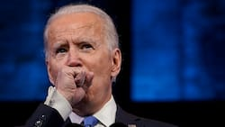 Joe Biden's persistent cough while giving speech after Electoral College victory causes concern