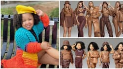 4-Year-Old Girl Recreates Beyonce's New Collection Months after Viral Michelle Obama Look
