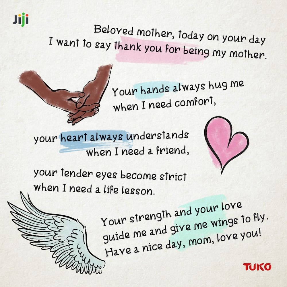 Creative messages for Mothering Sunday