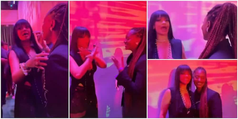 Rihanna meets Tems.