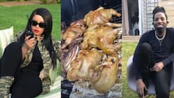 Vera Sidika hosts lavish barbecue party at her Runda estate alongside comedian Eric Omondi