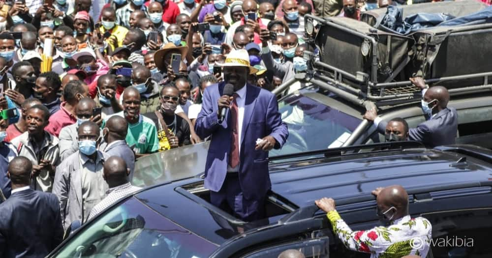 Raila Odinga called on Kenyans to check the leaders they elect.