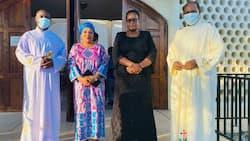 Mjane wa Magufuli Aonekana Hadharani Mara ya Kwanza Tangu Mumewe Alipozikwa