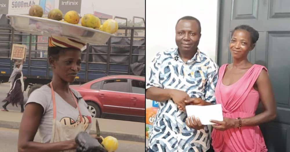 Unemployed nurse turns to selling oranges on streets after looking for job in vain