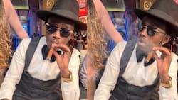 Bahati Shares Video Smoking Cigar, Netizens Wonder if He Ditched Gospel Music