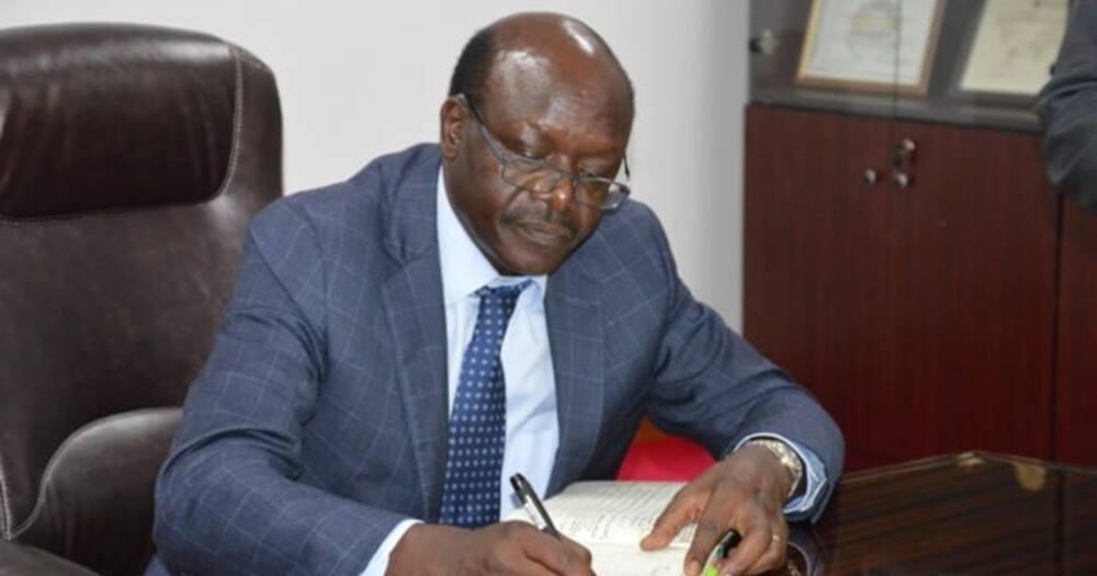 2022 presidential aspirant Mukhisa Kituyi. Photo: Mukhisa Kituyi.