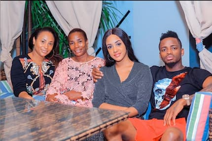 Diamond Platnumz's mum welcomes singer's Kenyan lover into family