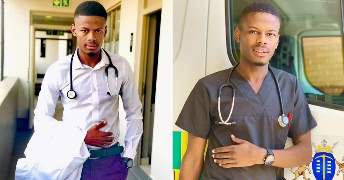 Handsome SA doctor nearly breaks the internet with good looks ▷ Kenya News